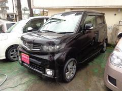 沖縄の中古車 ホンダ ゼストスパーク 車両価格 48万円 リ済込 平成21年 8.7万K ブラック