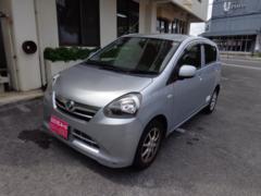 沖縄の中古車 ダイハツ ミライース 車両価格 35万円 リ済込 平成25年 9.5万K シルバー