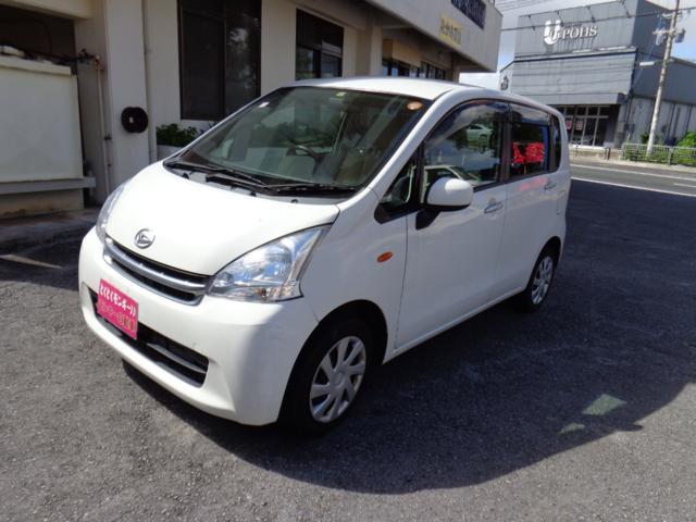 沖縄の中古車 ダイハツ ムーヴ 車両価格 38万円 リ済込 平成23年 9.8万km ホワイト