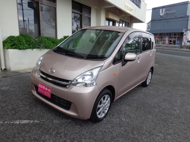 沖縄の中古車 ダイハツ ムーヴ 車両価格 49万円 リ済込 平成23年 3.5万km ピンク