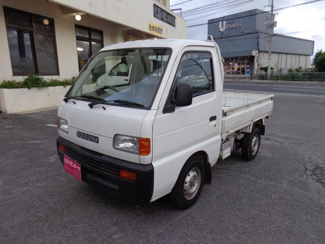 沖縄の中古車 スズキ キャリイトラック 車両価格 33万円 リ済込 平成7年 1.8万km ホワイト