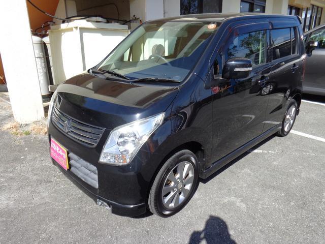 沖縄の中古車 スズキ ワゴンR 車両価格 39万円 リ済込 平成22年 9.5万km ブラック
