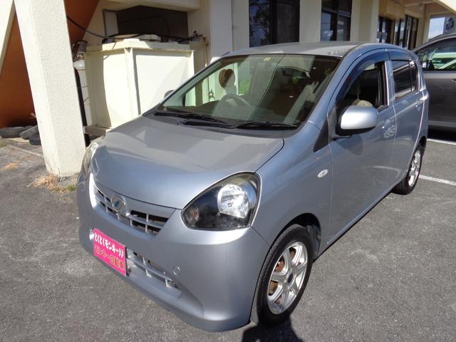 沖縄の中古車 ダイハツ ミライース 車両価格 35万円 リ済込 平成23年 8.7万km シルバー
