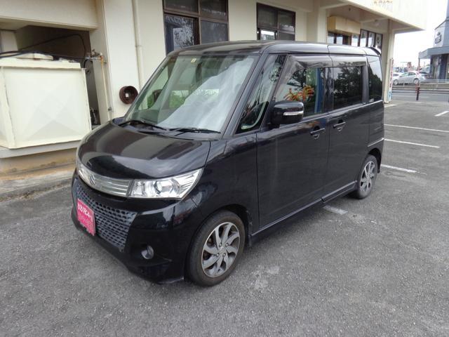 沖縄の中古車 スズキ パレットSW 車両価格 49万円 リ済込 2010(平成22)年 9.6万km ブラック