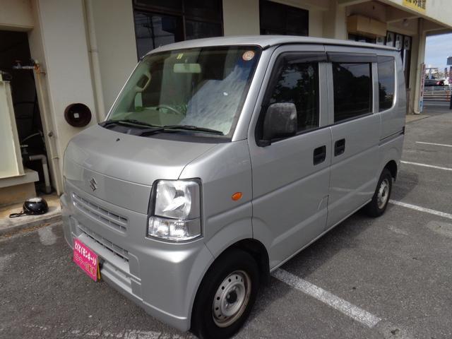 沖縄の中古車 スズキ エブリイ 車両価格 39万円 リ済込 平成23年 8.6万km ゴールドII