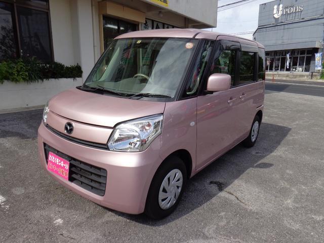 沖縄県の中古車ならフレアワゴン XG プッシュスタート アイドリングストップ TV ナビ