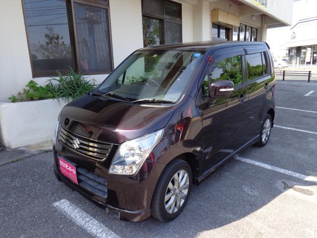 沖縄県の中古車ならワゴンR リミテッドII プッシュスタート 純正アルミ