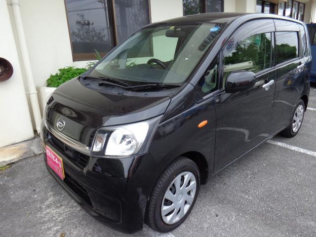 沖縄の中古車 ダイハツ ムーヴ 車両価格 45万円 リ済込 平成25年 7.0万km ブラック
