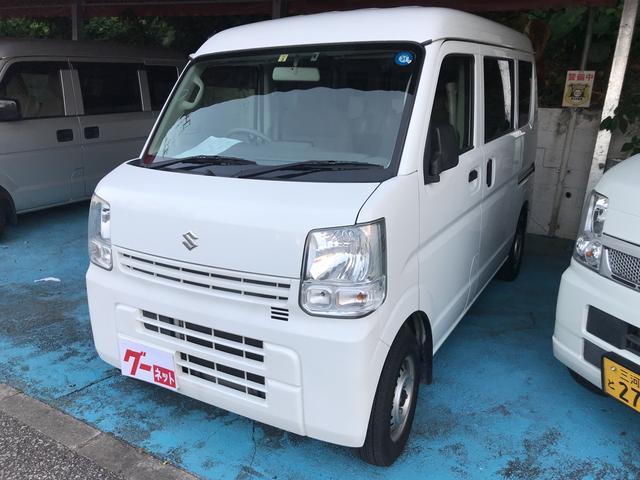 沖縄県の中古車ならエブリイ PC エアコン Wエアバック キーレス