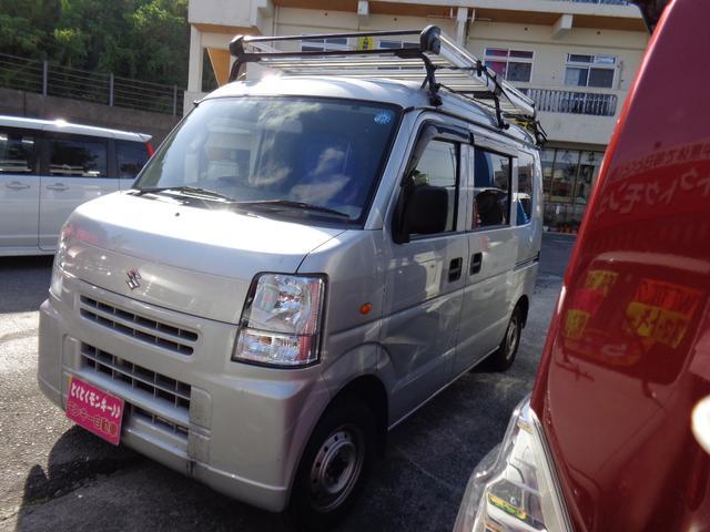 沖縄の中古車 スズキ エブリイ 車両価格 43万円 リ済込 平成24年 10.0万km シルバー
