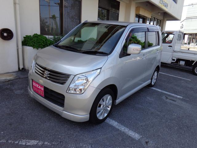 沖縄の中古車 スズキ ワゴンR 車両価格 39万円 リ済込 平成24年 9.0万km シルバー