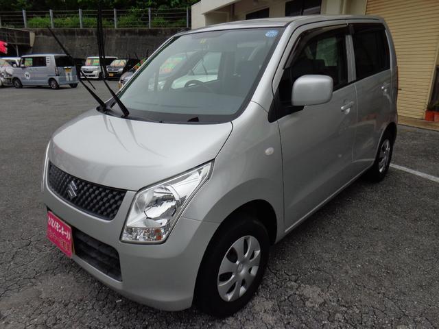 沖縄の中古車 スズキ ワゴンR 車両価格 45万円 リ済込 2009(平成21)年 3.7万km シルバー