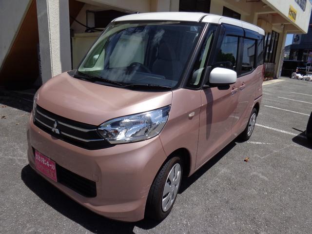 沖縄県の中古車ならeKスペース G e-アシスト ナビ パワースライドドア TV