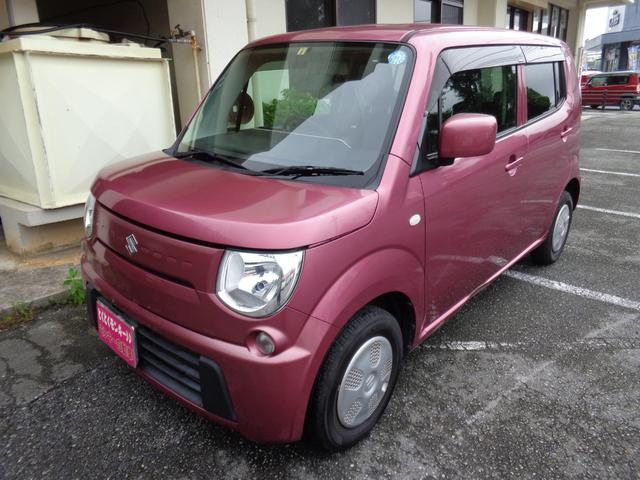 沖縄の中古車 スズキ MRワゴン 車両価格 47万円 リ済込 2012(平成24)年 8.1万km ピンク