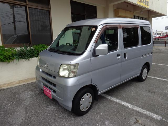 沖縄県の中古車ならハイゼットカーゴ クルーズ ワンオーナー ハイルーフ Wエアバック