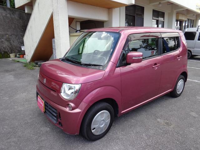 沖縄の中古車 スズキ MRワゴン 車両価格 38万円 リ済込 2011(平成23)年 10.7万km ピンク