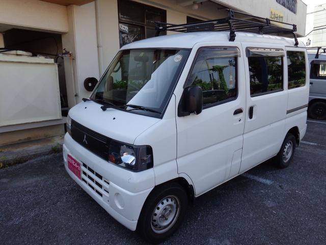 沖縄の中古車 三菱 ミニキャブバン 車両価格 29万円 リ済込 2009(平成21)年 11.8万km ホワイト