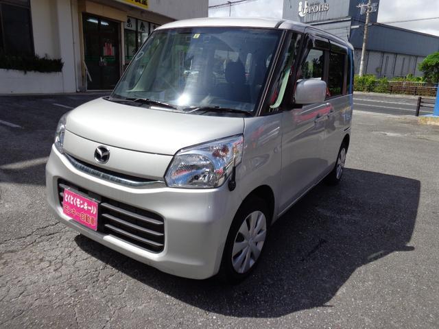 沖縄県の中古車ならフレアワゴン XS イクリプスナビ TV バックカメラ
