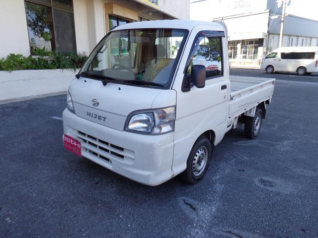 沖縄の中古車 ダイハツ ハイゼットトラック 車両価格 45万円 リ済込 2007(平成19)年 5.5万km ホワイト