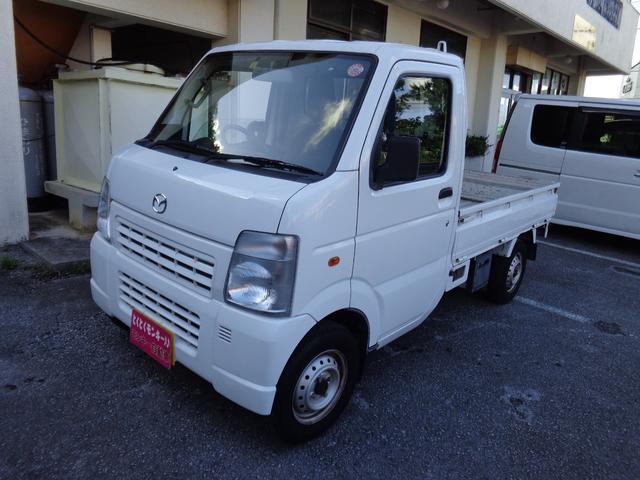 沖縄の中古車 マツダ スクラムトラック 車両価格 39万円 リ済込 2013(平成25)年 10.1万km ホワイト