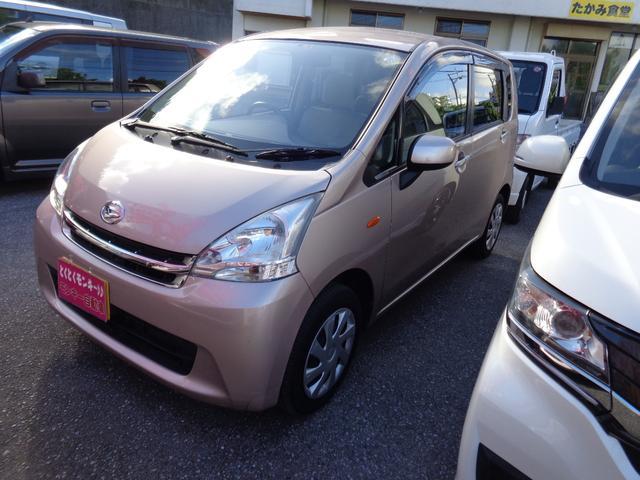 沖縄の中古車 ダイハツ ムーヴ 車両価格 43万円 リ済込 2011(平成23)年 4.9万km ピンク