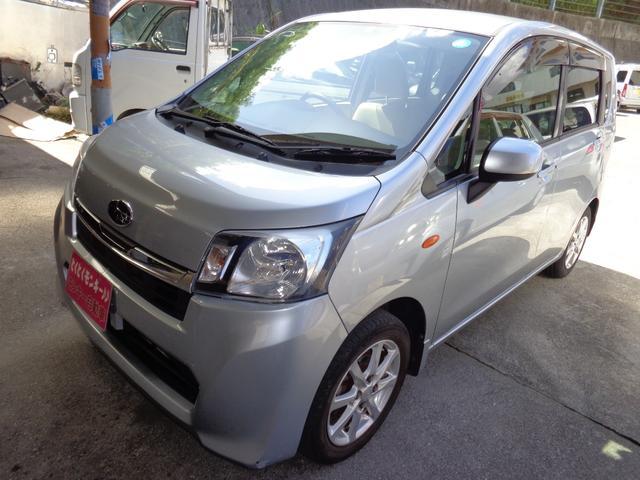 沖縄の中古車 スバル ステラ 車両価格 39万円 リ済込 2013(平成25)年 9.9万km シルバー