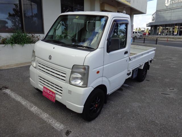 沖縄の中古車 スズキ キャリイトラック 車両価格 45万円 リ済込 2012(平成24)年 8.1万km ホワイト