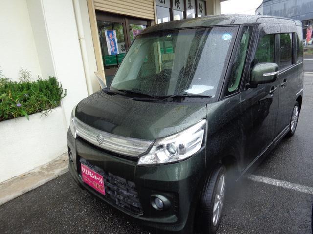 沖縄県の中古車ならスペーシアカスタム GS プッシュスタート 社外ナビTV