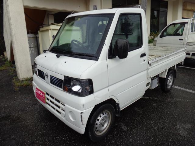 沖縄の中古車 日産 クリッパートラック 車両価格 35万円 リ済込 2008(平成20)年 8.4万km ホワイト