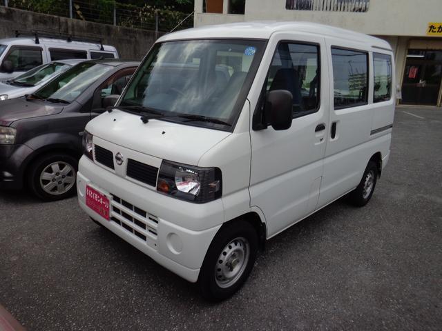 沖縄の中古車 日産 クリッパーバン 車両価格 29万円 リ済込 2011(平成23)年 10.4万km ホワイト