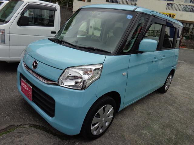 沖縄県の中古車ならフレアワゴン XS パワースライドドア アイドリングストップ スマートキー