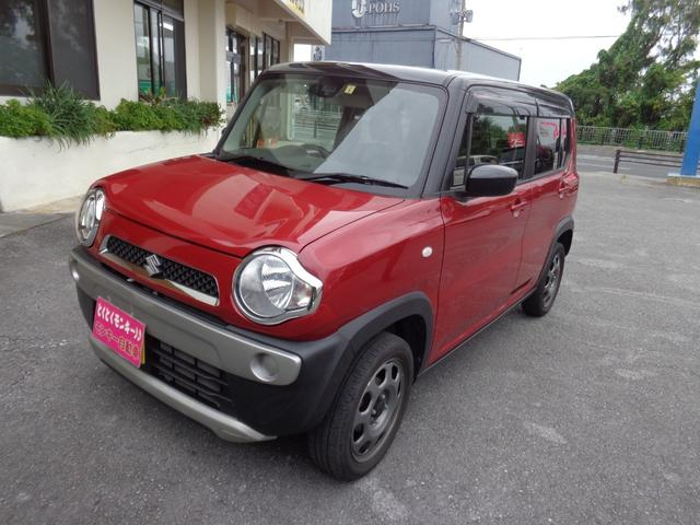 沖縄県の中古車ならハスラー Gターボ プッシュスタート TVナビ アイドリングストップ