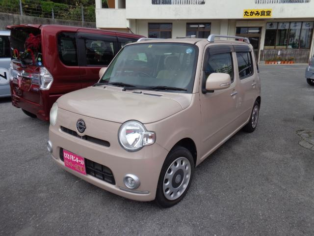 沖縄県の中古車ならミラココア ココアプラスX スマートキー 純正CD ルーフレール
