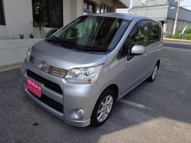 沖縄の中古車 ダイハツ ムーヴ 車両価格 49万円 リ済込 2012(平成24)年 8.6万km シルバー