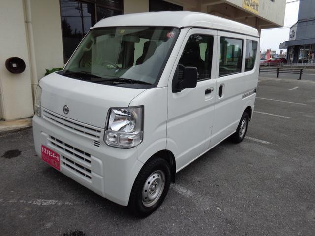 沖縄の中古車 日産 NV100クリッパーバン 車両価格 48万円 リ済込 2016(平成28)年 9.9万km ホワイト