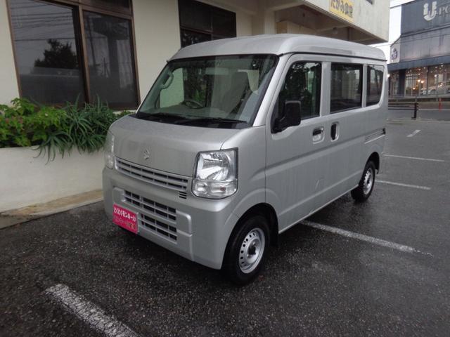 沖縄県の中古車ならエブリイ PA エアコン パワーステアリング Wエアバック