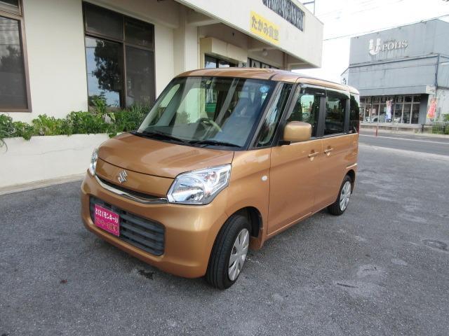 沖縄県沖縄市の中古車ならスペーシア X プッシュスタート パワースライドドア スマートキー