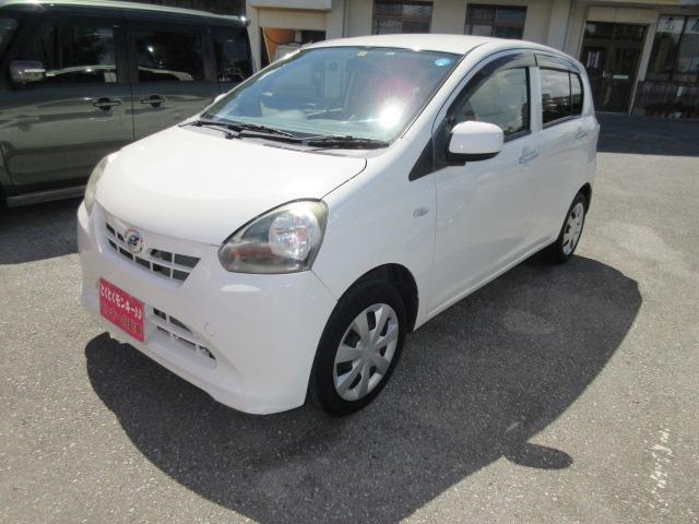 沖縄の中古車 ダイハツ ミライース 車両価格 39万円 リ済込 2013(平成25)年 5.2万km ホワイト