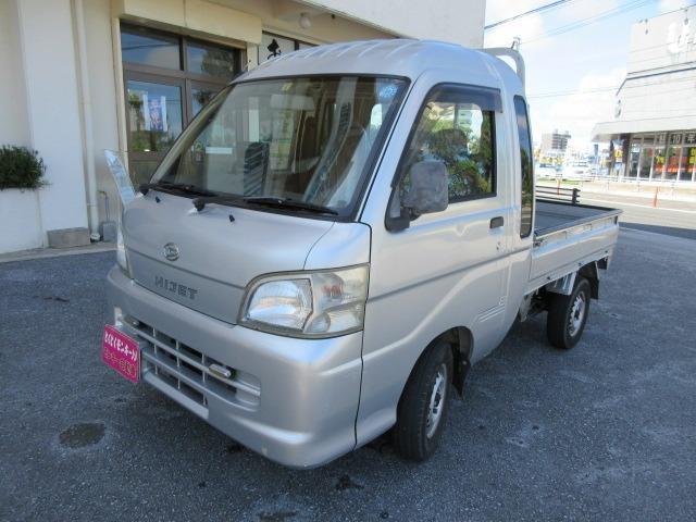 沖縄の中古車 ダイハツ ハイゼットトラック 車両価格 57万円 リ済込 2006(平成18)年 6.6万km シルバー