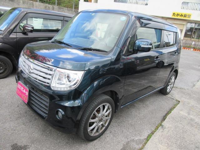 沖縄の中古車 スズキ MRワゴンWit 車両価格 49万円 リ済込 2013(平成25)年 8.1万km グリーン