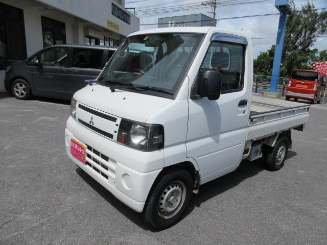 沖縄の中古車 三菱 ミニキャブトラック 車両価格 38万円 リ済込 2011(平成23)年 10.6万km ホワイト