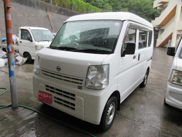沖縄県の中古車ならNV100クリッパーバン DX GLパッケージ オーバーヘッドシェルフ パワーウィンドウ パワーステアリング Wエアバック