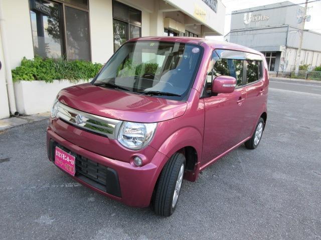 沖縄の中古車 スズキ MRワゴン 車両価格 49万円 リ済込 2012(平成24)年 8.5万km ピンク