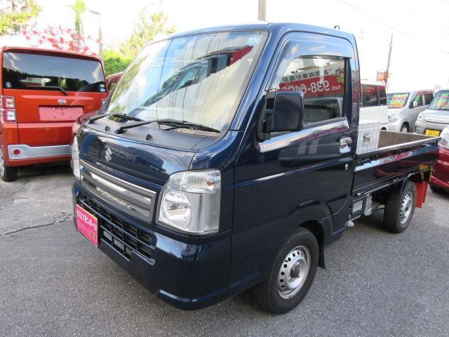沖縄県の中古車ならキャリイトラック KCスペシャル アルミツールBOX キーレス ABS Wエアバック