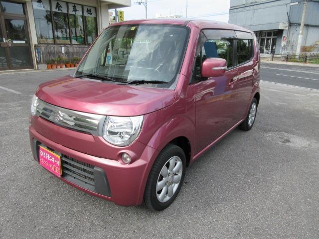 沖縄の中古車 スズキ MRワゴン 車両価格 49万円 リ済込 2012(平成24)年 7.8万km ピンク