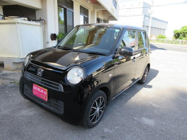 沖縄の中古車 ホンダ N-ONE 車両価格 49万円 リ済込 2013(平成25)年 9.4万km ブラック
