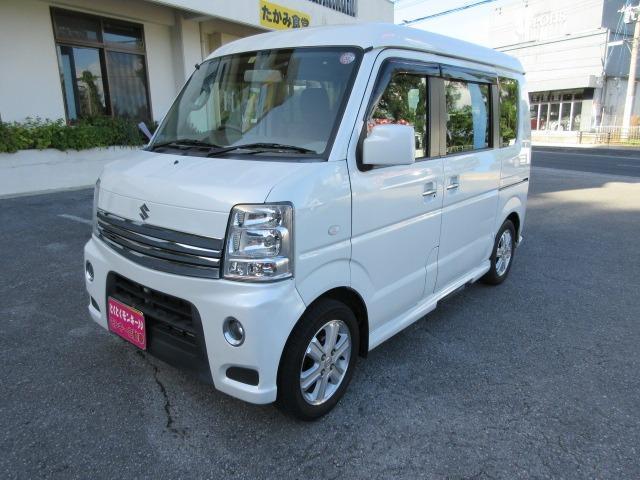 沖縄県の中古車ならエブリイワゴン PZターボスペシャル 社外ナビTV Wエアバック ダッシュAT パワーステアリング パワーウィンドウ キーレス ABS