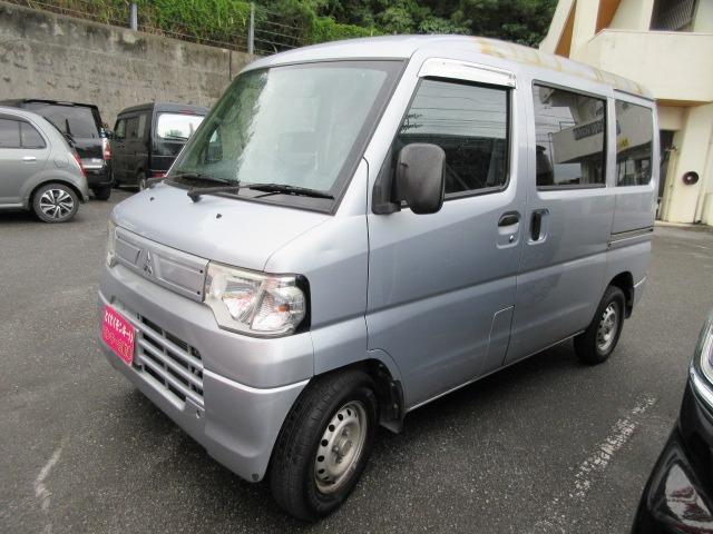沖縄県沖縄市の中古車ならミニキャブバン CD ハイルーフ パワーステアリング エアコン マニュアル車
