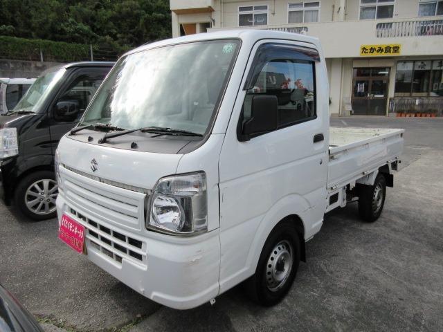 沖縄県の中古車ならキャリイトラック KC Wエアバック パワーステアリング