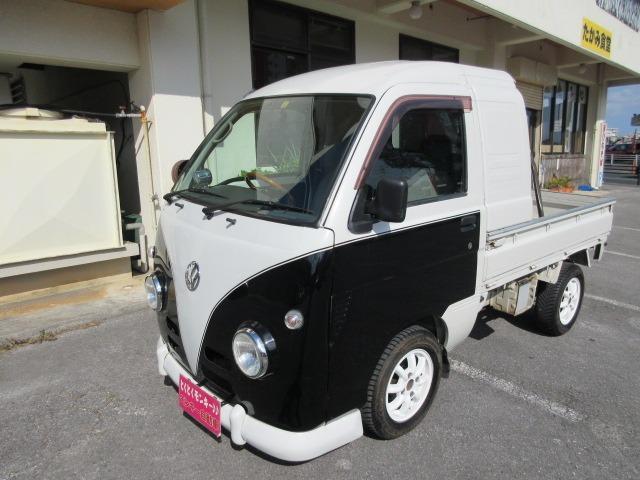 沖縄県の中古車ならハイゼットトラック ジャンボ 社外13インチアルミ エアコン付 5スピード ETC パワーステアリング